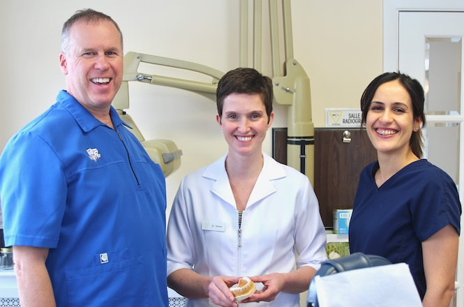 Dr Drummond, Dr Craig, Dr Maria
