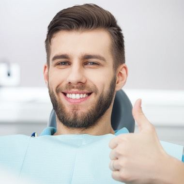 Happy patient - Hampstead dentist