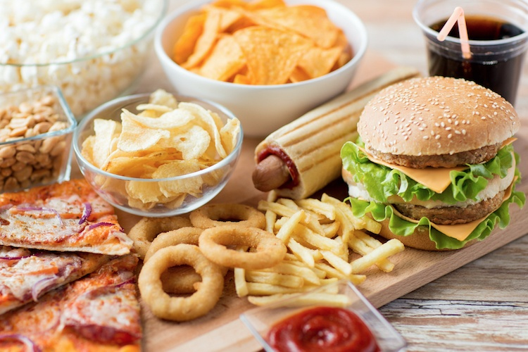 Fast food and snacking also affects your dental health